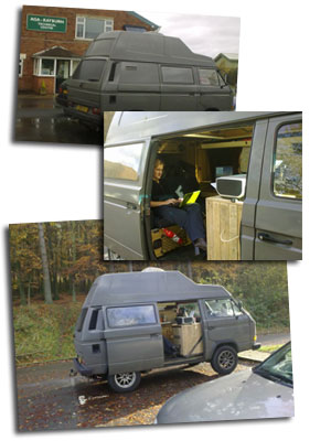 Hotpod UK tour 2009...in style