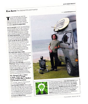 Telegraph Magazine Eco Hero
