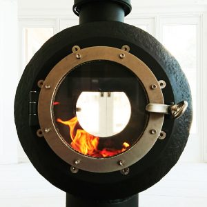 Hotpod Nautipod custom stove Padstow